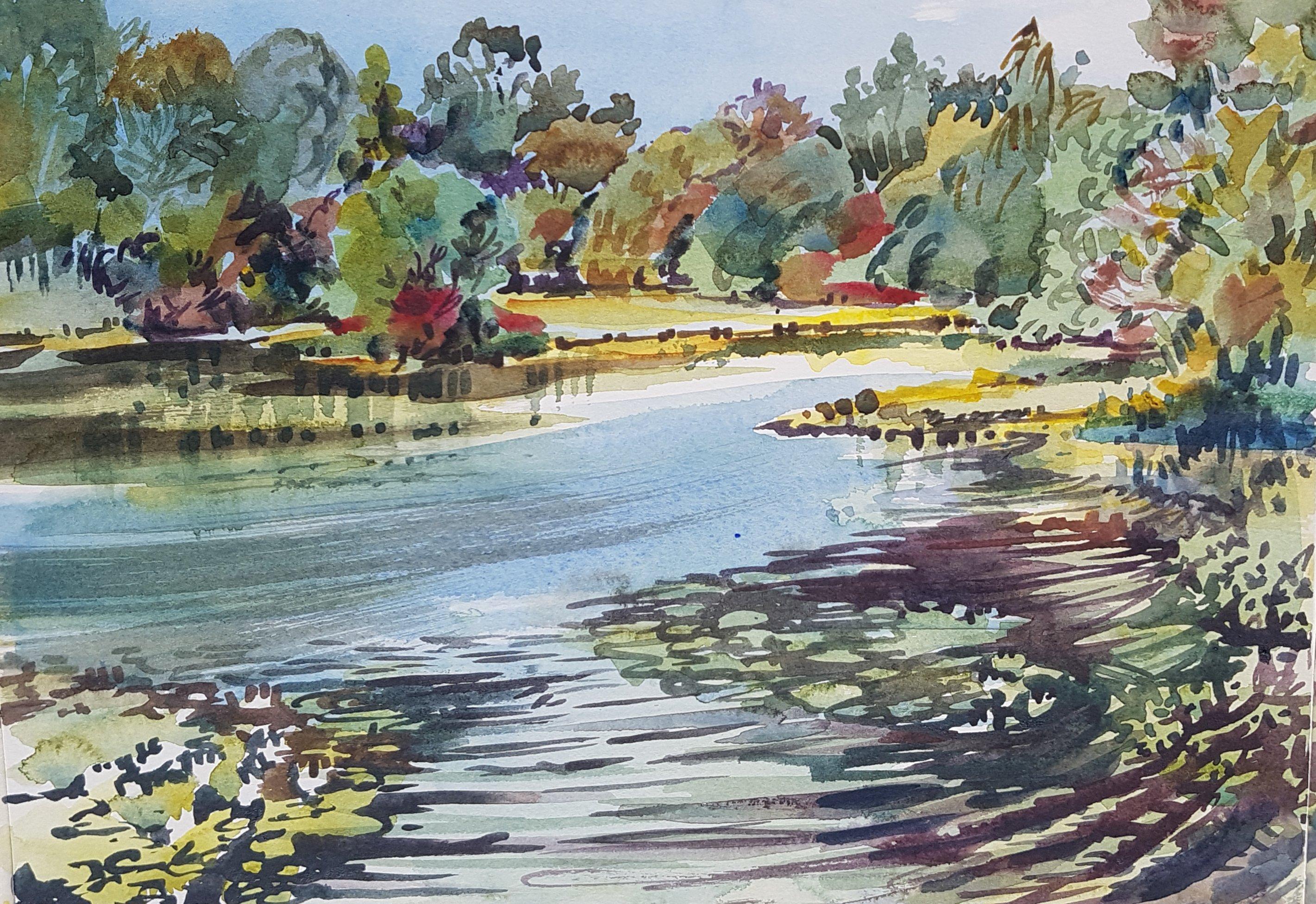 Eyeworth Pond