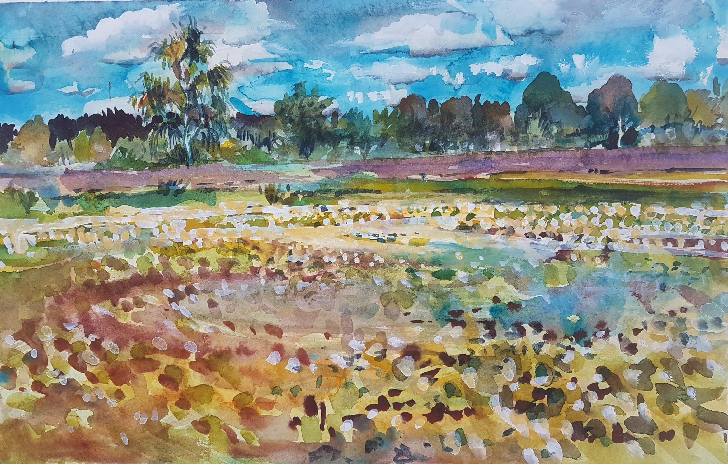 Ocknell Pond (site of)